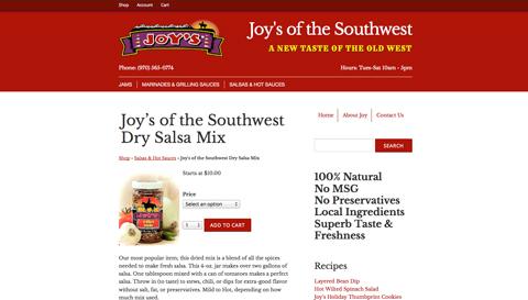Joy's of the Southwest