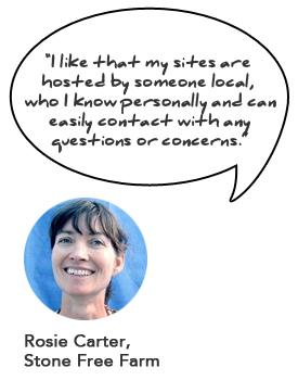 Rosie Carter's Cortez Web Services Testimonial