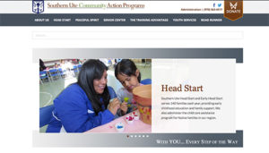 Southern Ute Community Action Programs Website Redesign