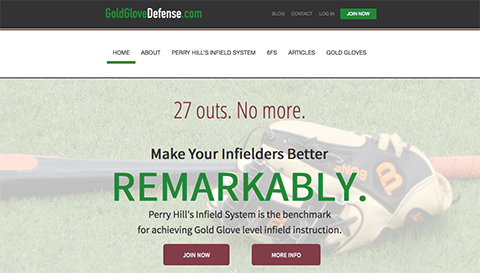 Perry Hill's GoldGloveDefense.com