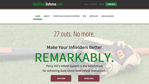 Perry Hill's GoldGloveDefense.com