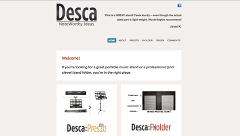 Desca Portable Music Stands