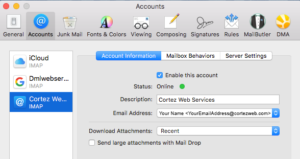 Apple Mail Add Smtp Server How to Specify a Preferred SMTP